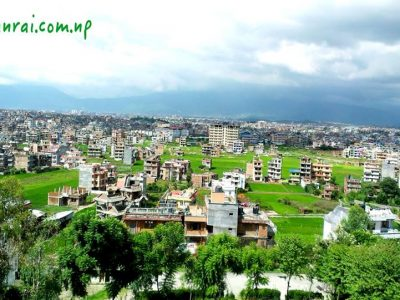 View from AITM Lalitpur