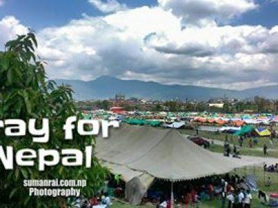 After Earthuquake Tudhiklhel, Kathmandu Nepal