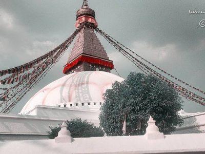 Buadha Stupa, Kathmandu Nepal