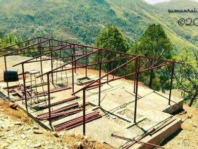 Earthquake Resistant Prefab Healthpost Building ,Nuwakot Nepal