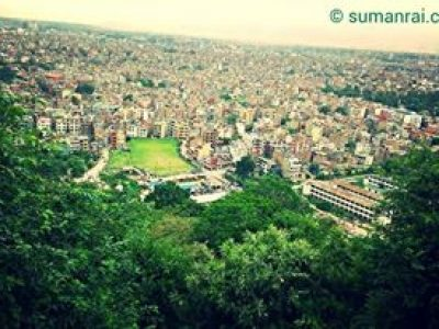 Gree KTM view from Sayambhu