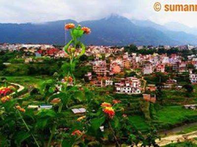 Nakkhukhola View from Nakhitpot