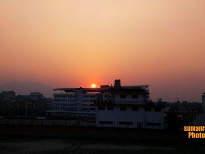 Sunset View near Kist Hospital, Lalitpur