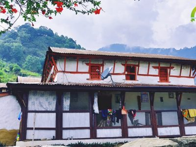 gurung typical house